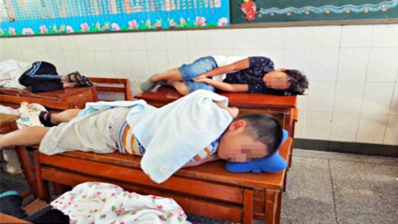 elementary-students-taking-a-nap