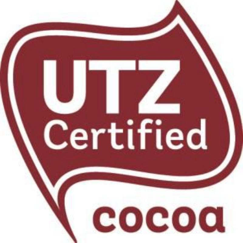 製品が持続可能な農業をサポートしていることを保証する「UTZ 認証ラベル」