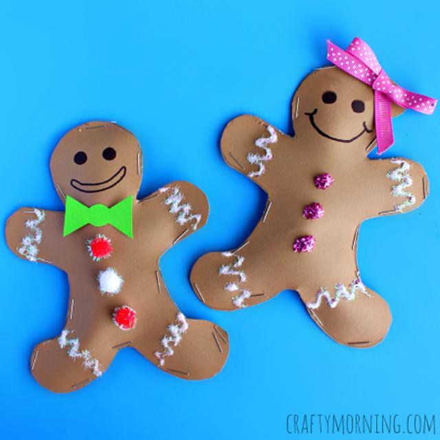 3d-gingerbread-man-and-girl-kids-craft